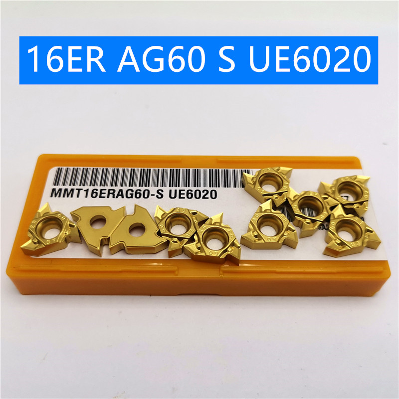 10PCS MMT16ER AG60 S UE6020 MMT 16ER High Hardness Press Thread Turning Tool CNC Machine Cutting And Grinding Machine Parts