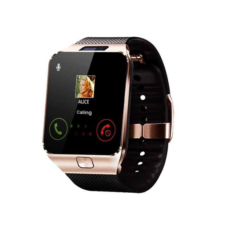 DZ09 Touchscreen Smartwatch Musik Aufruf Whatsapp Kamera Bluetooth Smart Uhr Männer Armbanduhr Smart Uhr Frauen für Android