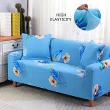 Floral Printing Stretch Elastic Sofa Cover Corner Flowers Patterned Sofa Slipcovers Couch Covers For Sofas Recliner 1 2 3 4 Seat