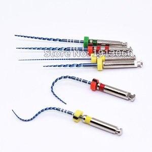 Image 4 - Arquivos odontológicos rotativos 02 04 06 acessórios da agulha do atarraxamento arquivos endônticos uso para a ativação térmica da limpeza do canal da raiz