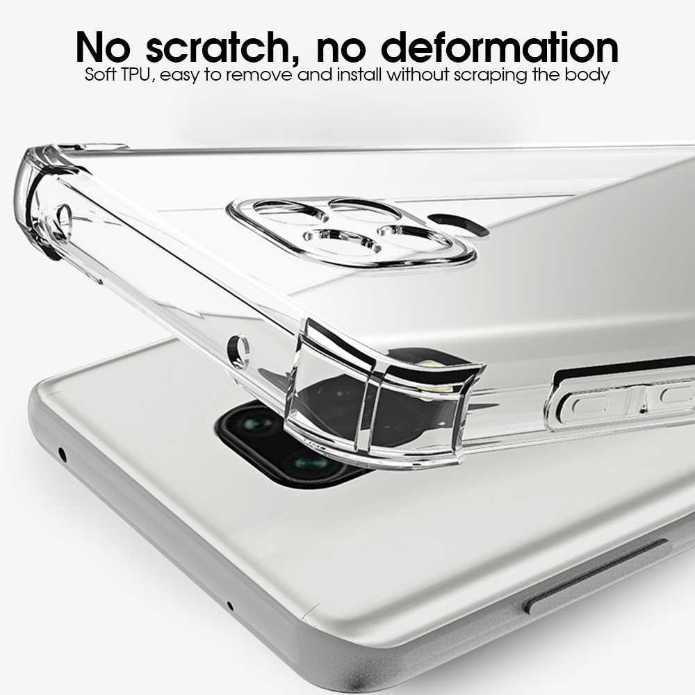 Ốp TPU Cho Xiaomi Redmi Note 9 Pro Chống Sốc Dành Cho Redmi Note 8 8T 8 Pro 9S 9 Pro Max 8A Trong Suốt Điện Thoại Capa
