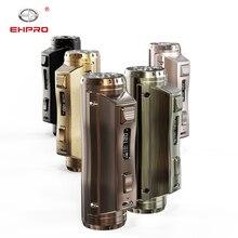 New Ehpro Cold Steel 100 120w TC vape MOD for 18650/21700/20700 battery maximum 120w electronic cigarette mechanical MOD