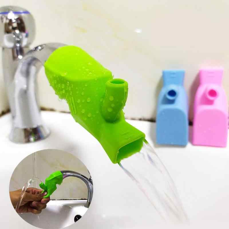 1pcc High Elastic Silicone Water Tap Extension Sink Children Washing Device Faucet Extenders Bathroom Kitchen Sink Faucet Extend Faucet Extenders Aliexpress