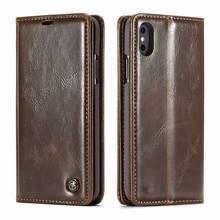 Sprawa dla iphone 11 pro x xs max xr 5 se 6 s 7 8 plus Se 2020 luksusowe skórzane klapki Funda Etui portfel telefon pokrywa apple shell coque