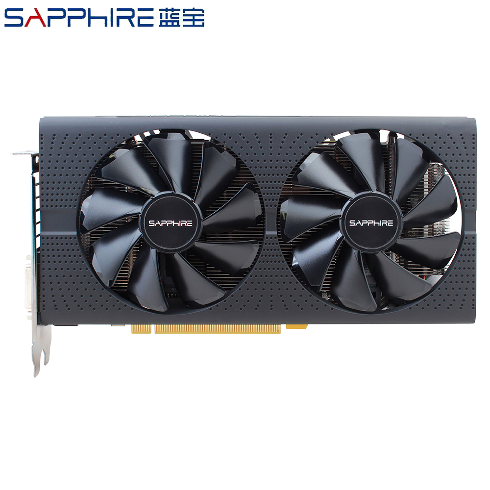 Image 2 - SAPPHIRE Graphics Cards AMD Radeon RX 570 4GB Gaming PC Video Card RX570 4GB GDDR5 256bit PCI Express 3.0 Desktop Used RX 570-in Graphics Cards from Computer & Office