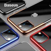 Baseus Custodia in Silicone di Lusso per Il Iphone 11 Pro per Il Caso di Iphone 11 Pro Max Cassa Del Telefono di Protezione Posteriore di Caso Coque caso Della Copertura