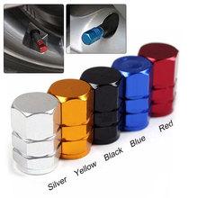 Новые 4 шт. упаковка Theftproof алюминиевые автомобильные клапаны для колесных шин шток воздуха колпачки герметичные крышки