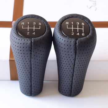 Gear Shift Knob For BMW 1 3 5 6 7 Series E60 E61 E28 E34 E39 E63 E64 E87 E88 F20 E90 E91 E92 X1 E84 Z8 E52 M3 M4 M5 MT 5 6 Speed image