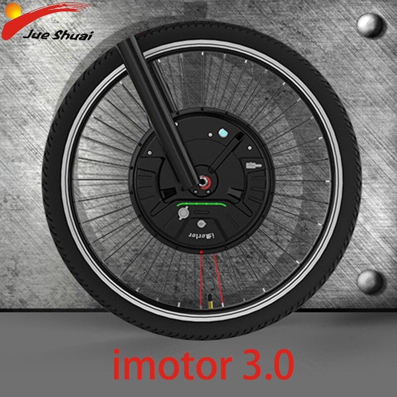 Nuovo Motore Ebike Kit 36V350W Imotor 3 App di Controllo Elettrico di Conversione Della Bicicletta Kit Ruota Anteriore Del Motore Ebike Kit Bicicleta Electrica