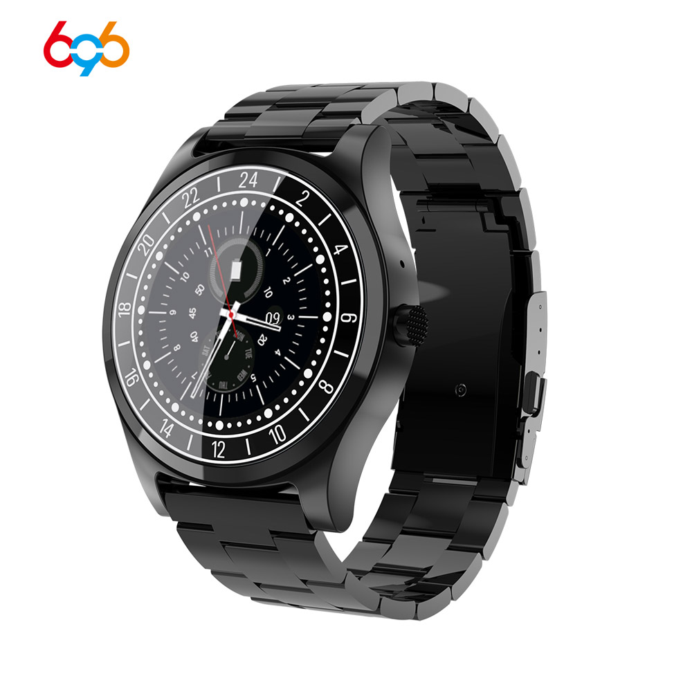 696 DT19 Smart Watch Android IOS Smartband Heart Rate Fitness Bracelet Sleep Monitor Fitness Tracker Color Screen Round watch