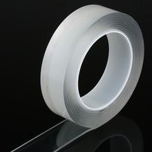 Washable Adhesive  Nano Tape Reusable Silicone Traceless Waterproof Moisture-proof.