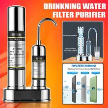 Ultrafiltration Drinking Water Filter System Home Kitchen Water Purifier Filter With Faucet Tap Water Filter Cartridge Kits