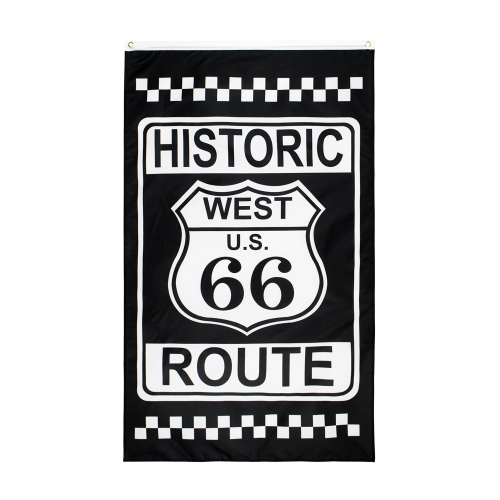 Route 66 Americana Flag 3/'x5/' Free Shipping!
