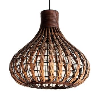 Southeast Asia style pendant light vine pendant light hotel project hanging lighting E27/E26 indoor lighting
