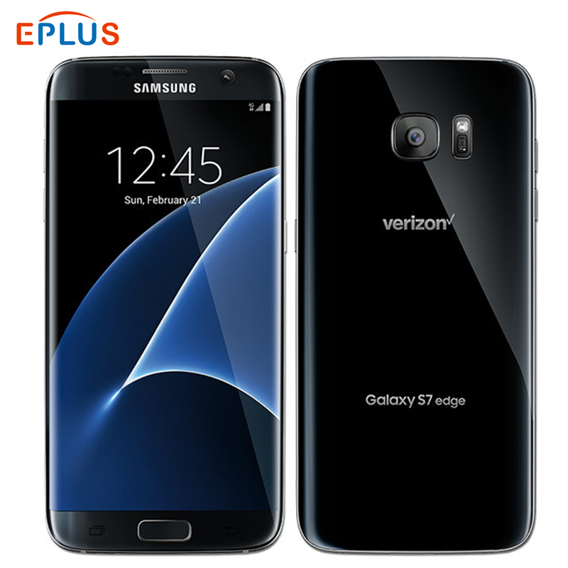 Neue Original Verizon <font><b>Samsung</b></font> <font><b>Galaxy</b></font> <font><b>S7</b></font> rand G935V 4GB 32GB Handy Snapdragon 820 Quad core 5,5