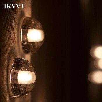 IKVVT светодиодный настенный светильник метеоритный душ светильник ing прохода лестницы водонепроницаемый настенный светильник гостиной спа