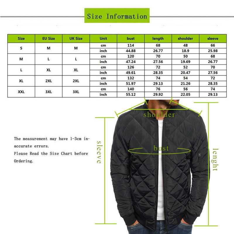 2020 가을 겨울 자켓 남성 파카 웜 코트 남성 의류 방풍 야구 코트 자켓 솔리드 따뜻한 Streetwear 브랜드 의류
