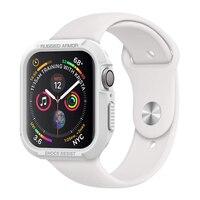 Etui na zegarek do apple watch 44mm 40mm 42mm wytrzymałe opancerzenie pokrowiec ochronny do iwatch 2 3 4 5 miękkie zabezpieczenie przed wstrząsami zderzak