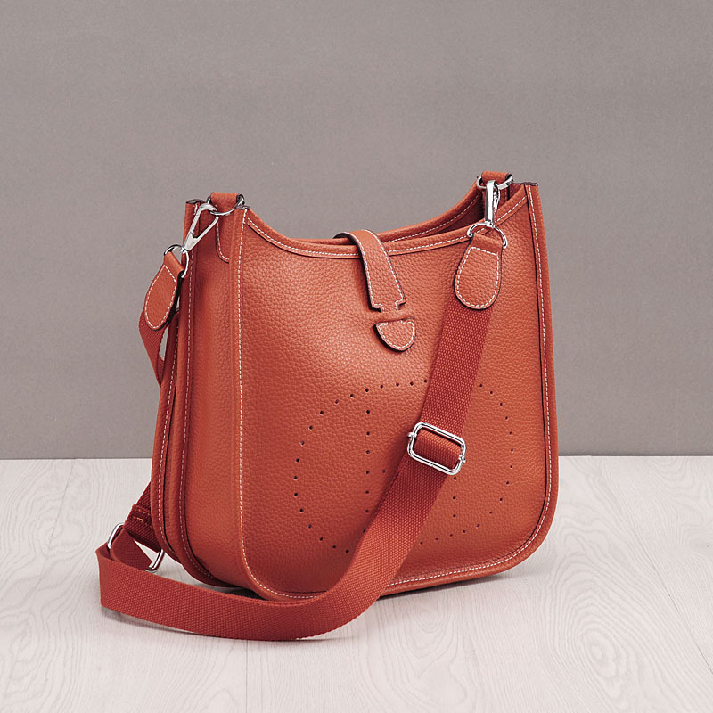 Image 4 - HOT New Fashion Women Genuine Leather Bags Ladies Messenger Shoulder Bag Luxury Famous Brand Handbag Crossbody Bags For Women-in Shoulder Bags from Luggage & Bags
