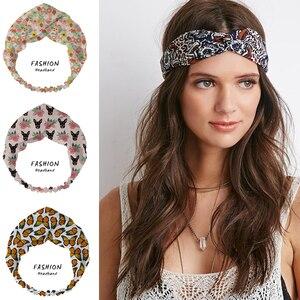 2020 de pelo de las mujeres de accesorios de moda de verano floral bliss pelo banda diademas Hairband sombreros Scrunchies Bandana