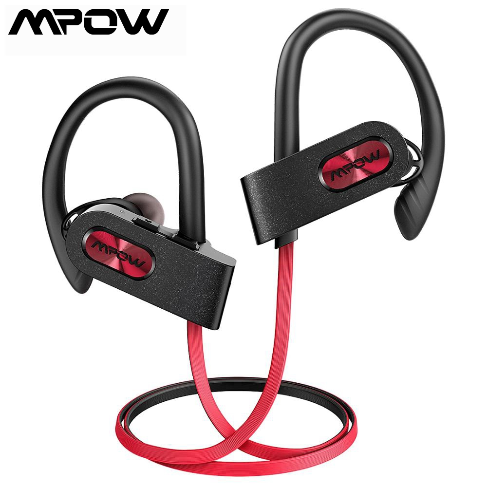 Mpow Flame2 Sports Bluetooth Headset IPX7 Ear hook headphones wireless earphones with 3 pairs of ear caps fone de ouvido