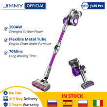 NEW JIMMY JV85 Pro Cordless Handheld Flexible Vacuum Cleaner 200AW Powerful Suction 70 Mins Run Time LED Display Dust Cleaner