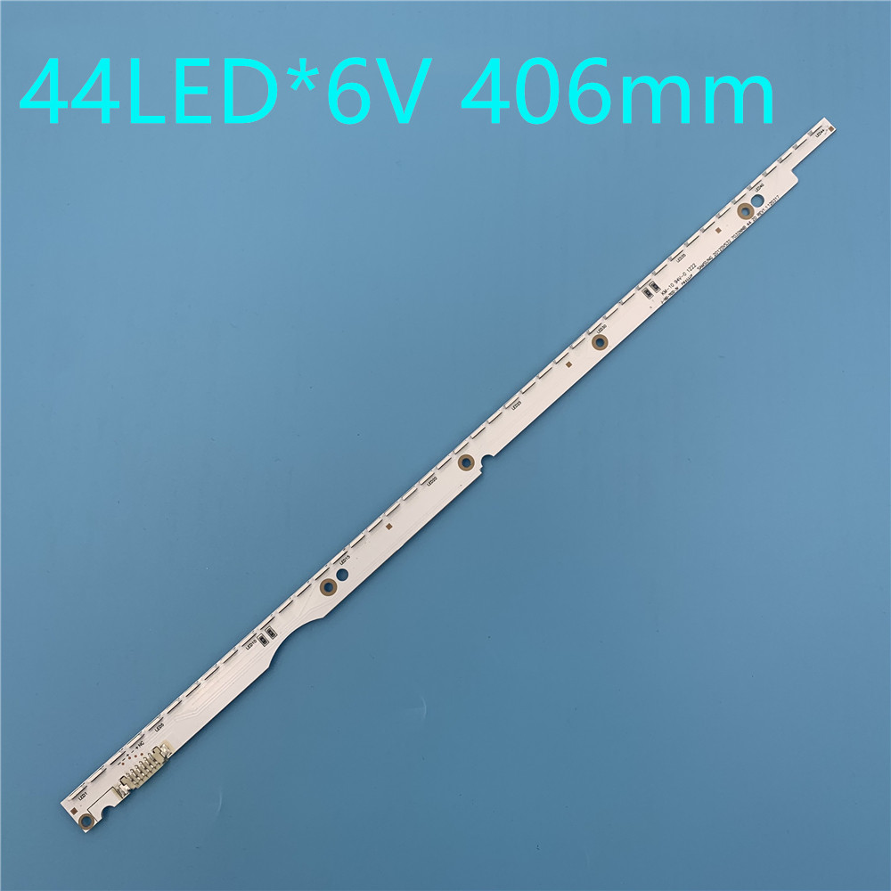 New 44LED*6V 406mm LED Strip For Samsung UA32ES5500 UE32ES6100 SLED 2012svs32 7032nnb 2D V1GE-320SM0-R1 32NNB-7032LED-MCPCB
