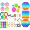 23-30Pcs Fidget Toy Set Cheap Sensory Fidget Toys Pack for Kids or Adults Decompression