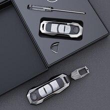 Capa de chave de carro de liga de zinco, de alta qualidade, aviação, adequada para mazda 2 3 5 6 2017 CX 4 CX 5 acessórios CX 7 CX 9 cx 5, CX 3