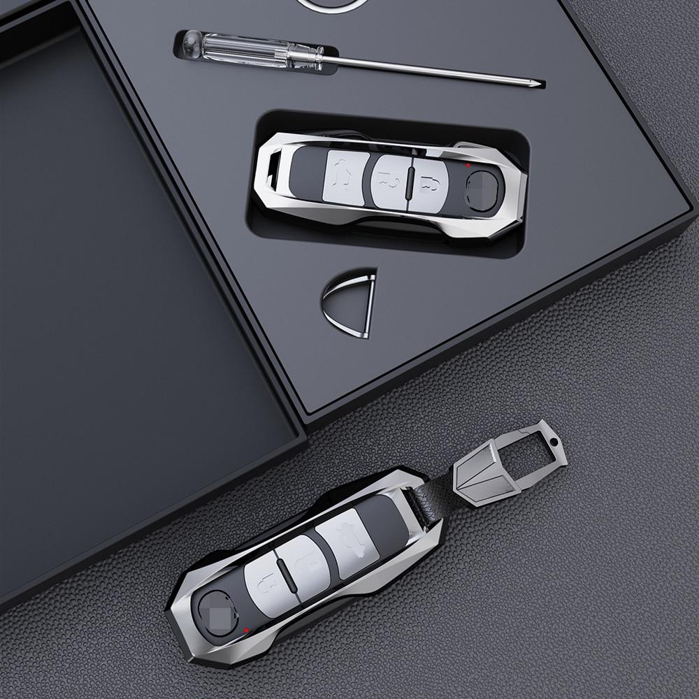 High-quality Aviation Zinc Alloy Car Key Cover Case Fit for Mazda 2 3 5 6 2017 CX-4 CX-5 CX-7 CX-9 CX-3 CX 5 Accessories