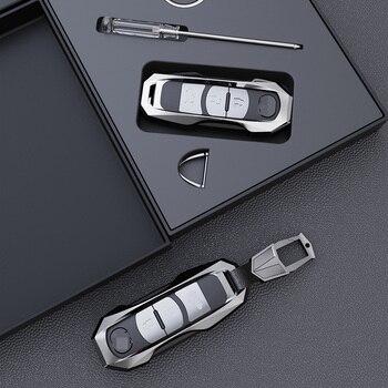 High-quality Aviation Zinc Alloy Car Key Cover Case Fit for Mazda 2 3 5 6 2017 CX-4 CX-5 CX-7 CX-9 CX-3 CX 5 Accessories фото