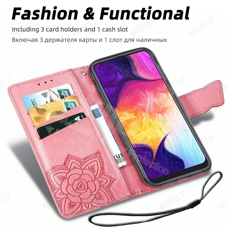 H6928b36a433349b2849dddfa1401d8c2s HOPELF For Xiaomi Redmi Note 7 8 Pro 6 Case Cover on Coque Filp Wallet Leather Case for Redmi 7A 8A 6A 6 7 8 Note 8t Phone Cases