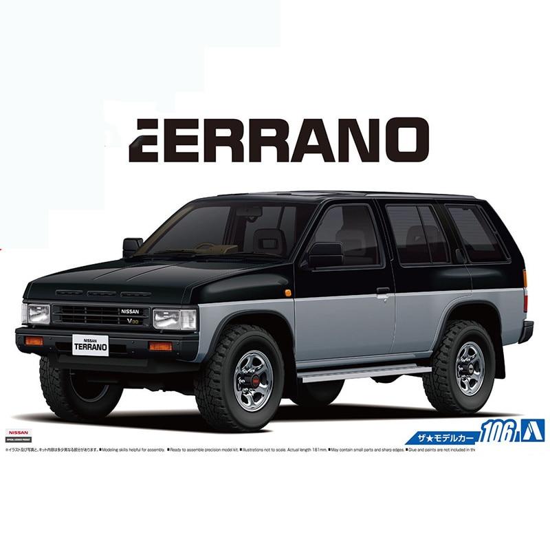 1/24 Nissan D21 Terrano V6-3000 R3M Off-road 05708