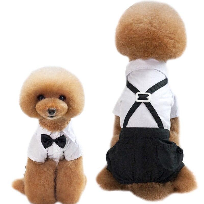 Pet Clothes Pet Suit Dog Trousers Four Leg Pants Pet Dress Dog Clothe Strap Pants Luxury Dog Clothes Dog Costume
