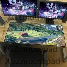 XGZ изысканный большой размер коврик для мыши мультфильм пейзаж картины серии мульти-размер выбор клавиатуры