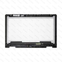NT133WHM A10 B133HAB01.0 NV133FHM N41 NV133FHM A11 LCD Digitalizador de pantalla táctil Panel para DELL Inspiron 13 5368 5378 6NKDX 06NKDX