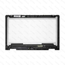 NT133WHM A10 B133HAB01.0 NV133FHM N41 NV133FHM A11 LCD dokunmatik ekran digitizer Paneli DELL Inspiron 13 5368 5378 için 6NKDX 06NKDX