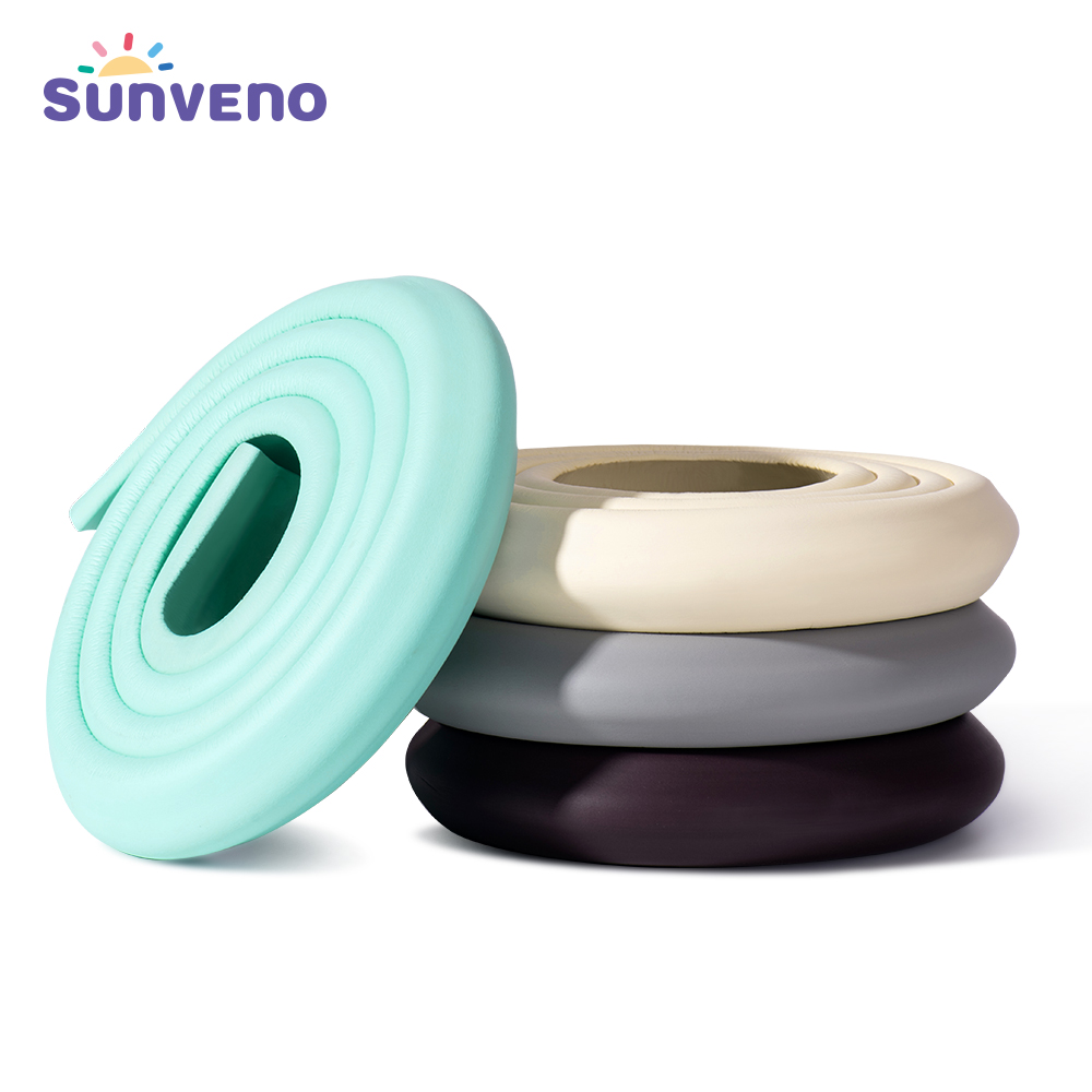 Sunveno 2M Baby Safety Corner Protector Children Protection Furniture Corners Angle Protection Child Safety Table Corner Protect