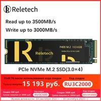 Reletech P400 PCle ssd m2 nvme 256 512gb 1tb 2tb M.2 Solid State Drive unabhängige cache Interne festplatte für Laptop Desktop