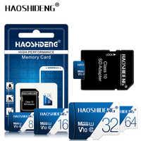 Alta qualidade micro sd cartão de memória 32 gb 64 gb 128 gb cartão flash cartão de memória tf 16 gb 8 gb 4 gb presente adaptador frete grátis