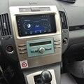Автомобильный мультимедийный экран, Android 10, Авторадио 4G Lte Gps для Toyota Corolla Verso 2006, навигация, стерео, Bluetooth, аудио головное устройство