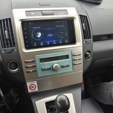 Tela multimídia do carro android 10 autoradio 4g lte gps para toyota corolla verso 2006 unidade de cabeça áudio estéreo navegação bluetooth