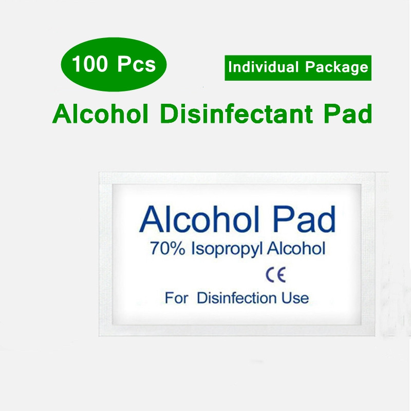 Non-irritating Breathable Disposable Alcohol Sterilized Cotton Sheet No Residue Tableware Mobile Computer Sterilized Cotton Pad
