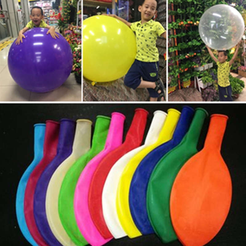 1 Piece 36 Inch Balloons High Quality Thick Big Balloons Kids Toy Balls