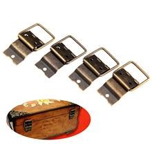 20pcs Iron Hinges Antique Bronze 38*21mm Ring Even Hinge Door Retro Jewelry Box Cabinet