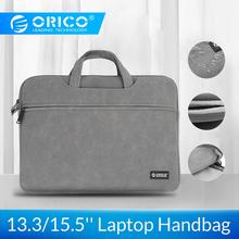 Buy ORICO Waterproof Laptop Sleeve Bag Case for Macbook Air Pro 13.3 15.6 Notebook handbag For Dell Acer Asus Business Storage bag directly from merchant!