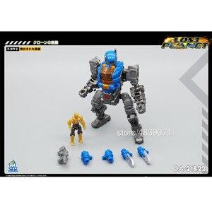 Image 2 - MFT экшн фигурка игрушки DA 21 и DA 22 DA21 и DA22 маленькая пропорция силовая броня силовой костюм потеря планеты трансформация деформации