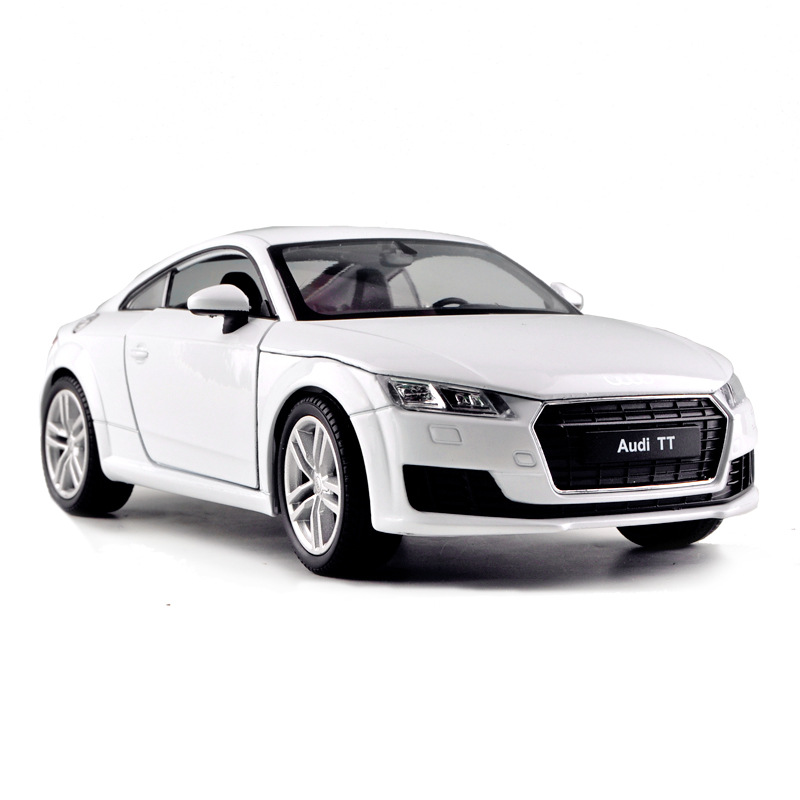 WELLY 1 24 Audi TT car alloy car model simulation car decoration collection gift toy Die casting model boy in Diecasts Toy Vehicles from Toys Hobbies