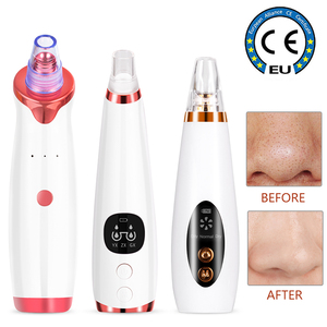 Vacuum Deep Blackhead Remover Nose Deep Pore Cleaner Face T Zone Pore Acne Pimple Removal Rechargeable Beauty Clean Skin Tool