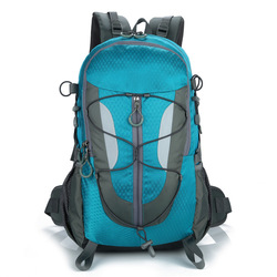 30L Unisex Outdoor Bag Traveling Camping Backpack Men&Women Softback Mountaineering Hiking Backpacks Capacity Sports Bags Packet